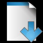 document-arrow-down-icon