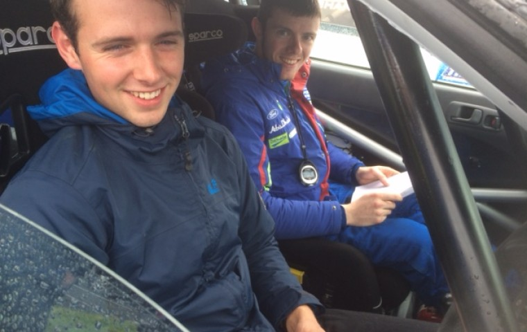"""<span class=""""light"""">Brian&</span> Stephen after excellent result"""
