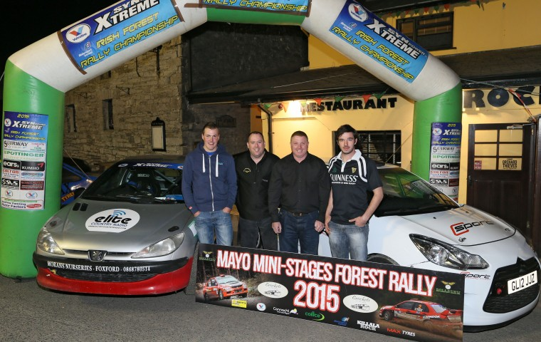 "<span class=""light"">Alan</span> Moran Ed Muldoon, John Burke and David Carney, Local   Competitors all set for 2015 Event"