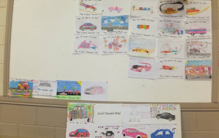 """<span class=""""light"""">Art</span> Competition at Road safety day"""