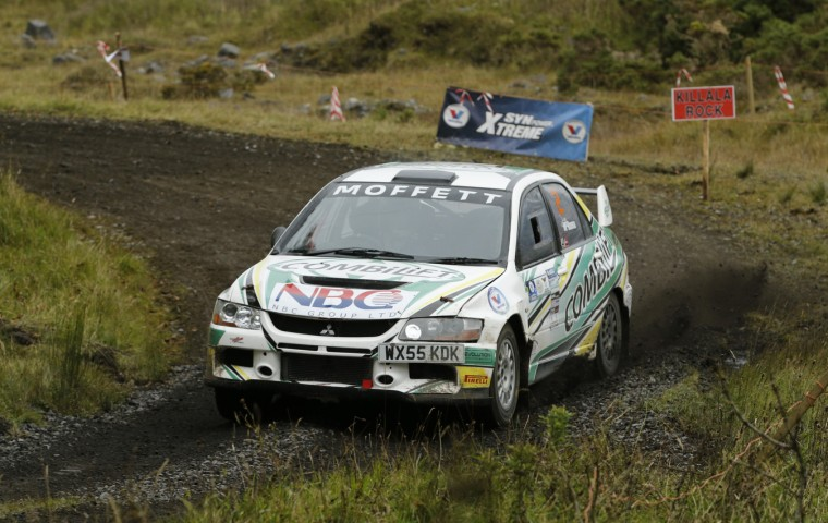 "<span class=""light"">Josh</span> Moffett & Jason Mckenna Winners of Mayo Forest rally   Pic James Burke"