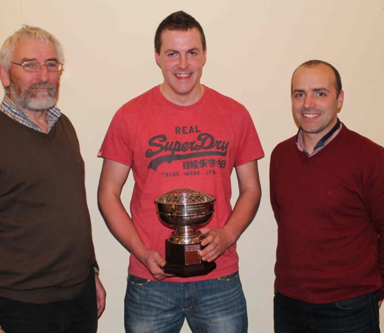 "<span class=""light"">John</span> Duffy, Alan Moran (Young Driver Champion 2015) and   Matthew Murphy"