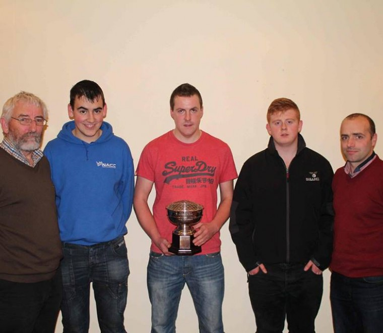 "<span class=""light"">John</span> Duffy and Matthew Murphy with National Award Winners Jason Murphy, Alan Moran and Oisin Coffey"
