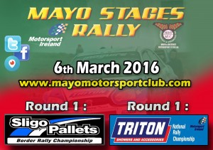 Mayo Stages Rally