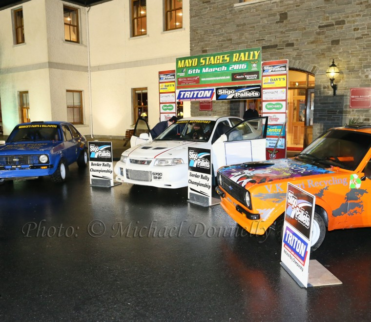 "<span class=""light"">Mayo</span> Stages Rally Launch at Hotel Ballina"