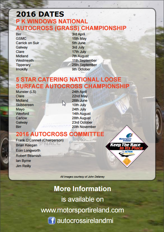 Autocross champoionship
