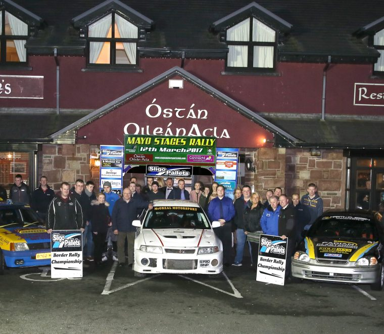 "<span class=""light"">Mayo</span> Stages Rally 2017 Launch in Óstan Oilean Acla"