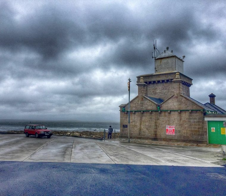 "<span class=""light"">View</span> of Blacksod Light house – Eco Drive 2016"