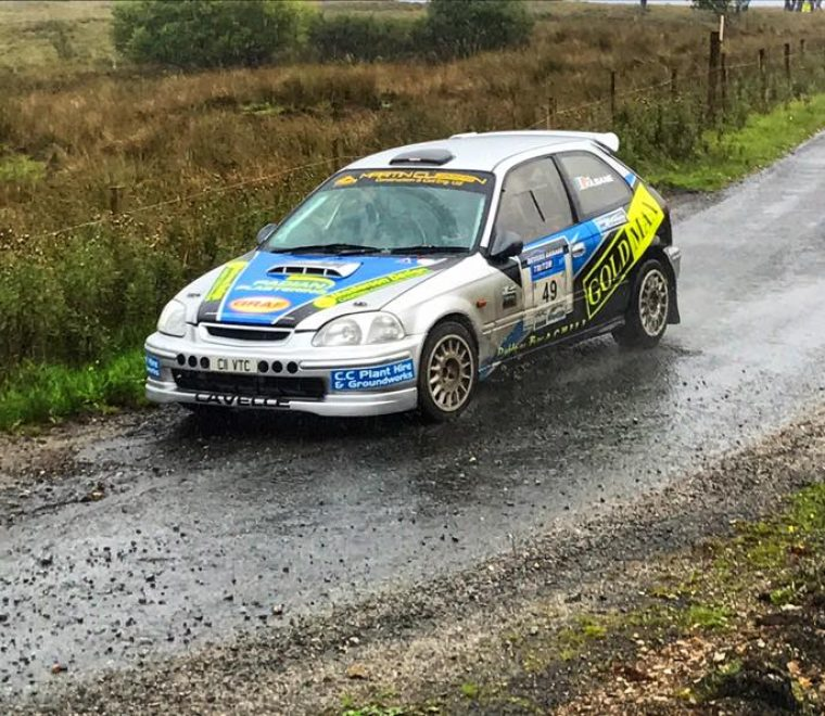 "<span class=""light"">Brian</span> Lavelle Lorcan Moore Sligo Stages Rally highest placed Mayo overall pic Michael Staunton"