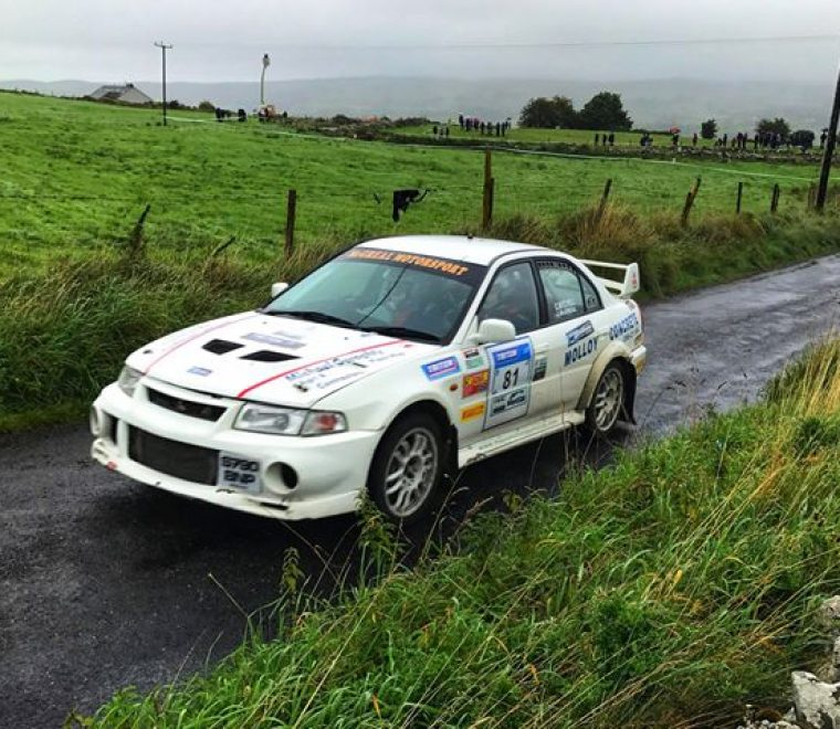 "<span class=""light"">James</span> McGreal, Chris Mitchell Sligo Stages 2018 Winner Class 15 pic – Michael Staunton"