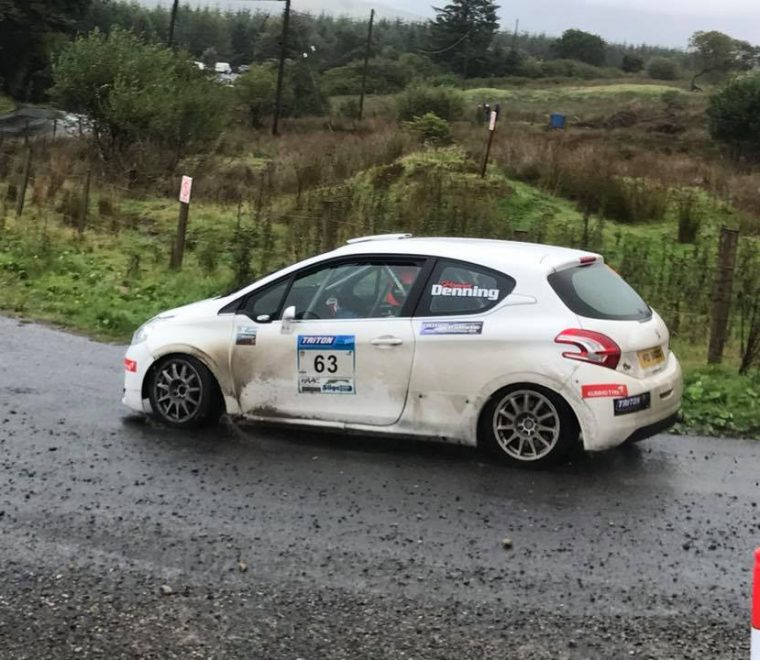 "<span class=""light"">Ronan</span> Denning Karl Egan Sligo Stages Rally winner class 2 pic Michael Staunton"